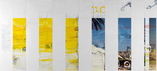 A Yellow Garmushka 4/4            Landscape folds