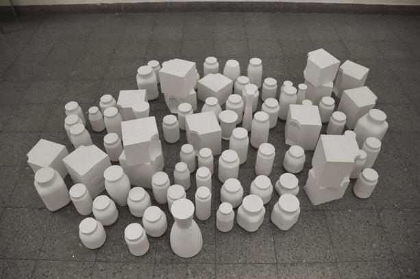 Installation 'Jars' 2001 #004