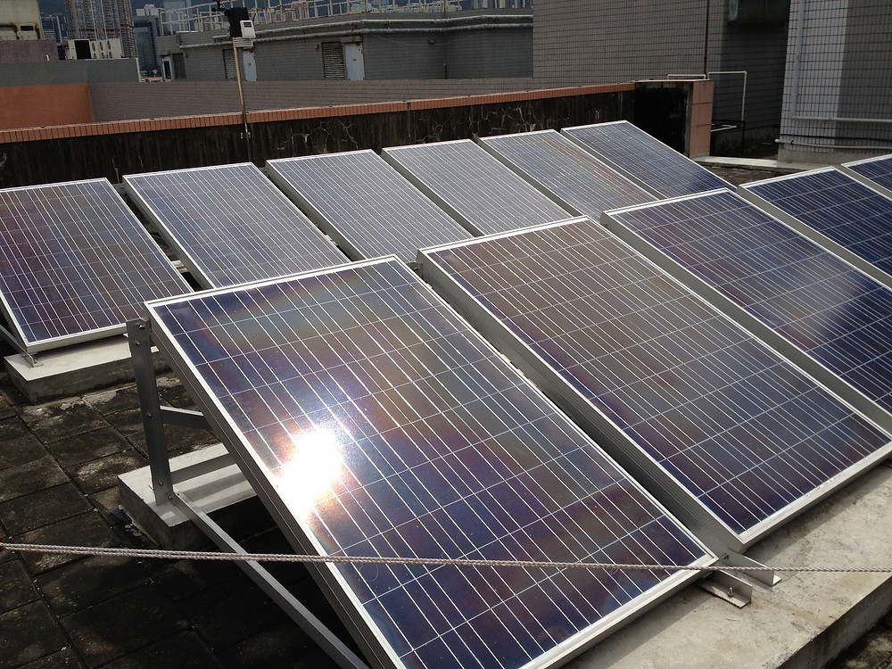 #HK #Green Education #PV #Solar