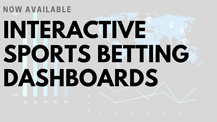 Interactive Sports Betting Dashboard