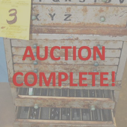 machine parts, machine manufacturer, machine auction, manufacturer auction, nj auction, new jersey auction house