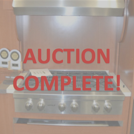 appliances, appliance auction, microwave, stove, kitchen auction, kitchen equipment, new jersey auctioneers, auction house