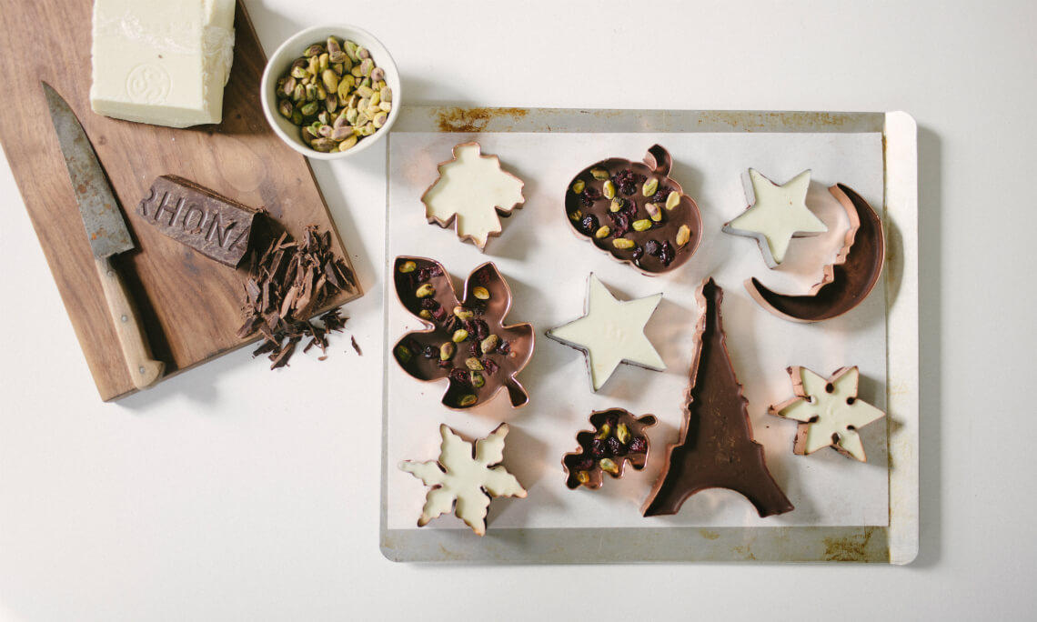 Cookie Cutter Candy Bars