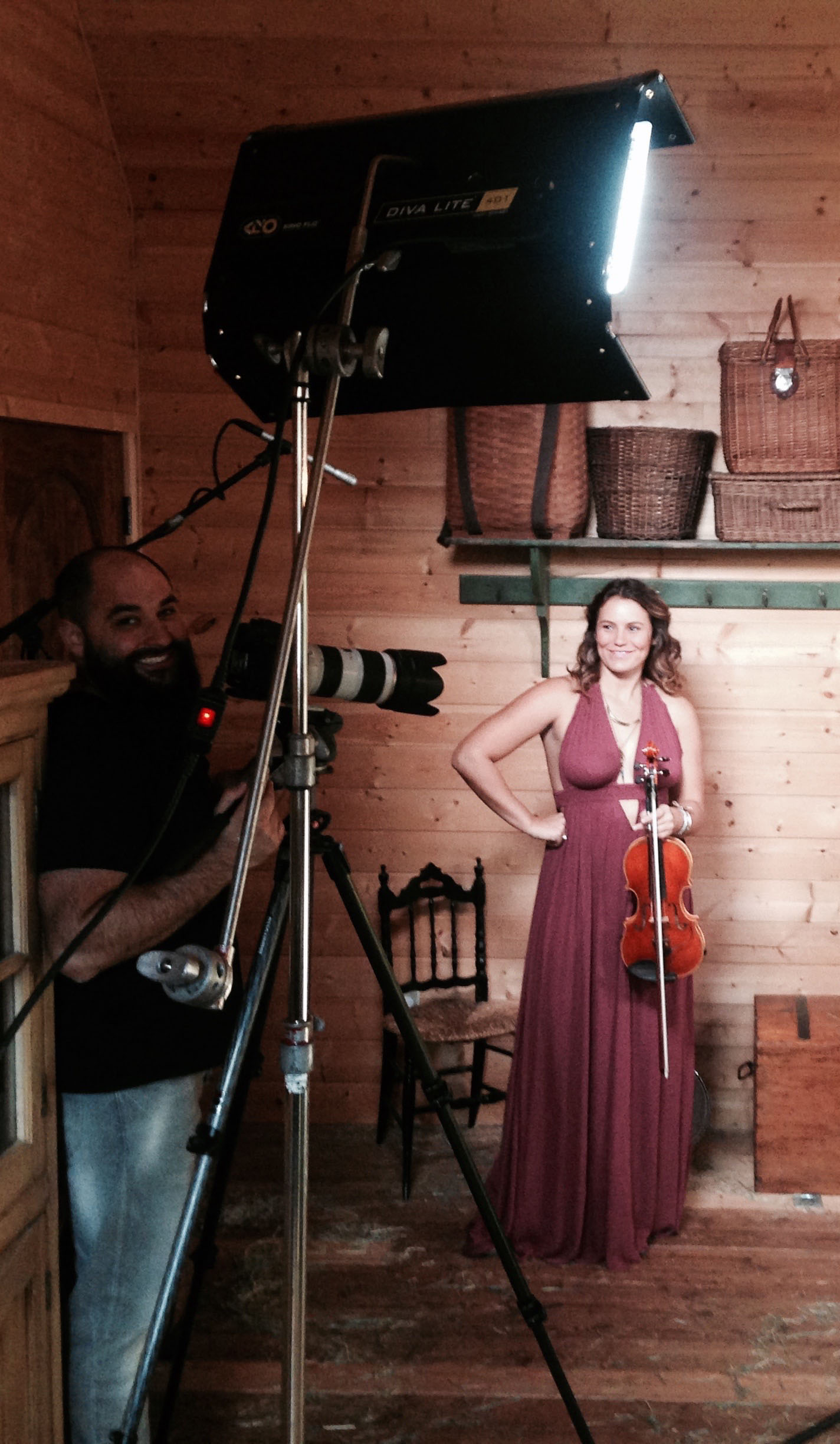 Amanda Rae Fitch Violin Video Shoot 2