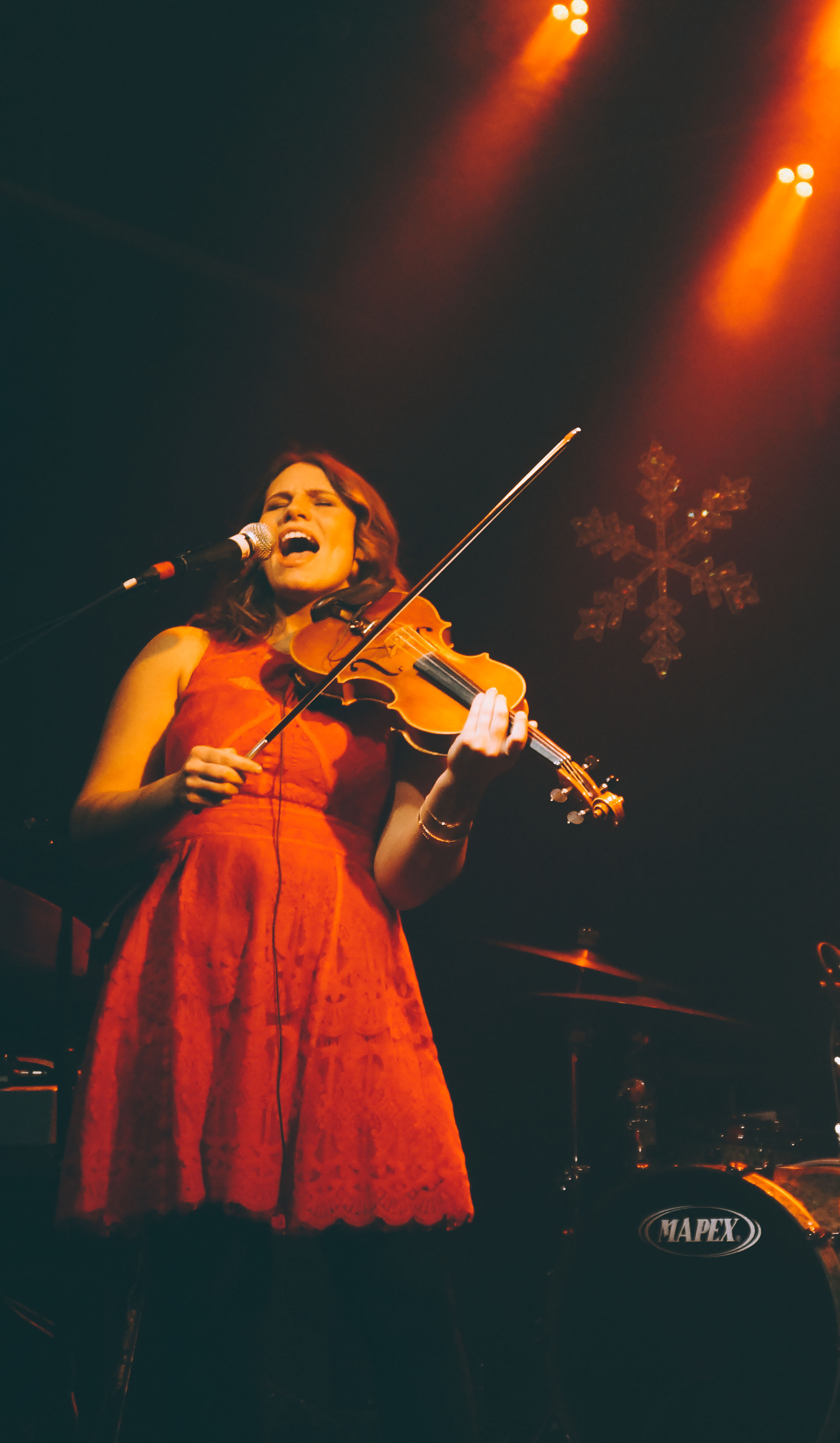Amanda Rae Fitch Violin Fiddle Seattle Tractor 3