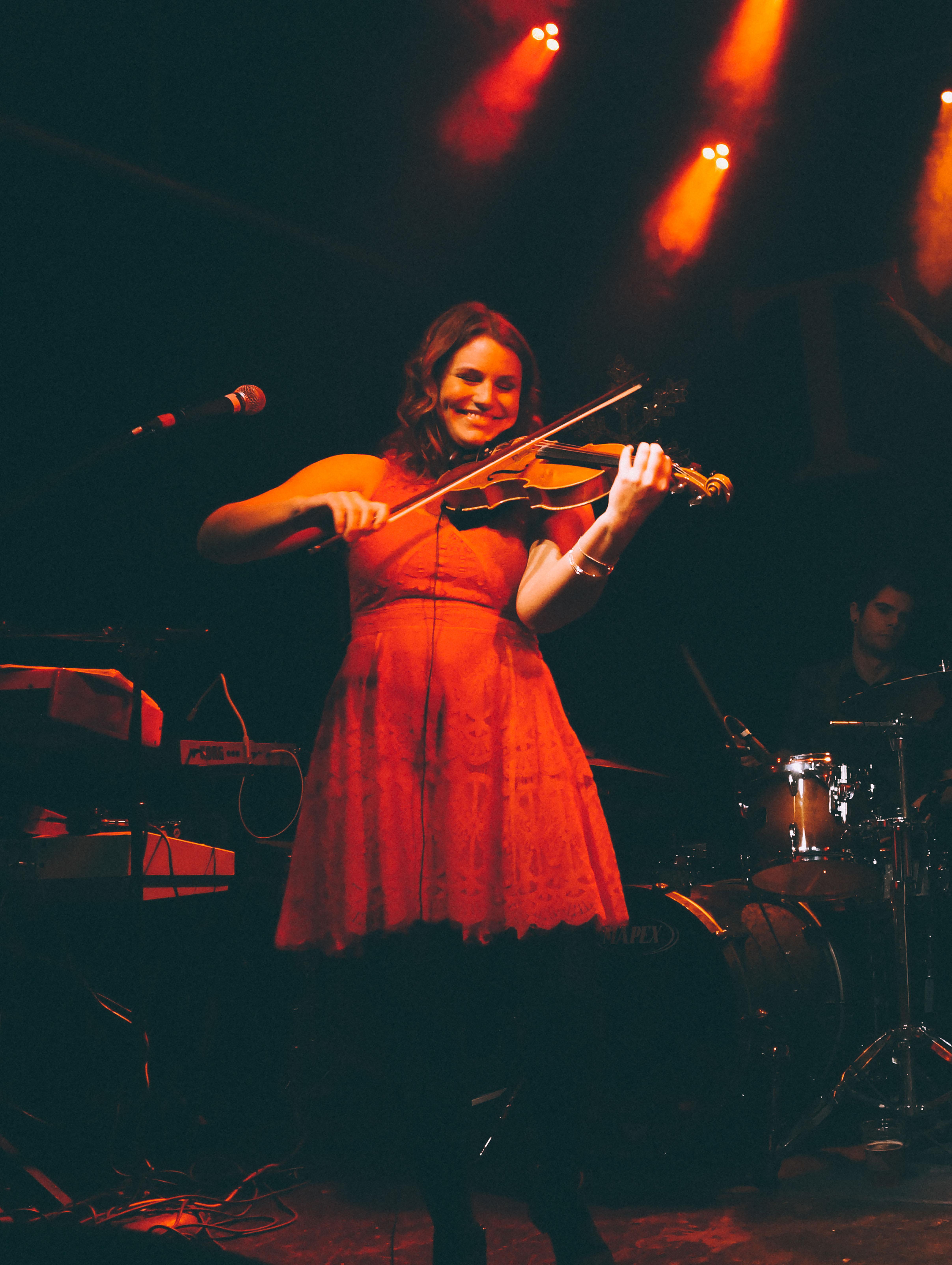 Amanda Rae Fitch Violin Tractor 1