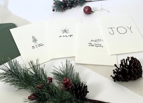 Christmas Card Variety Set