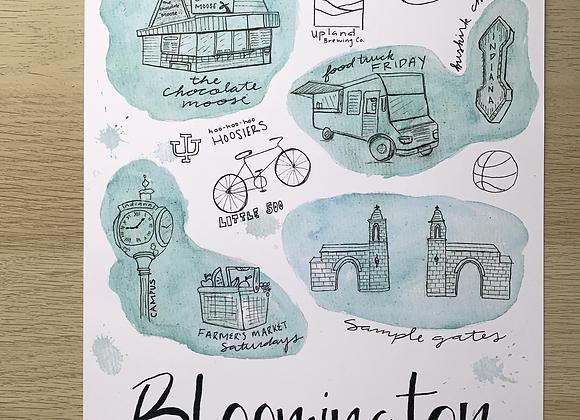 BLUEmington Landmarks