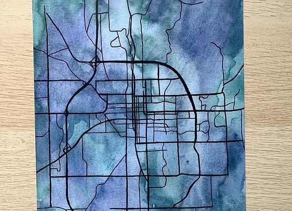 BLUEmington Map