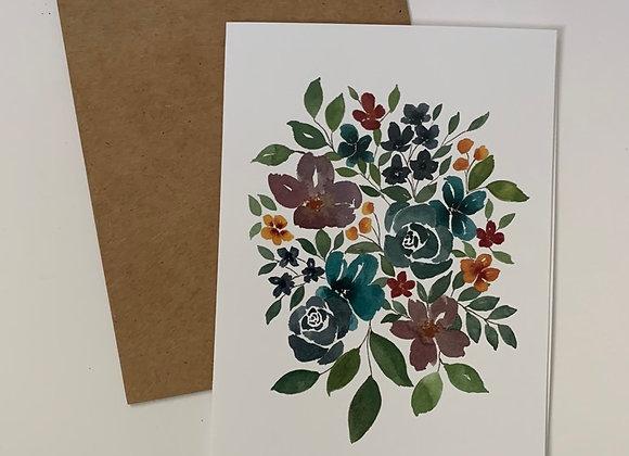 Floral Series Card Set