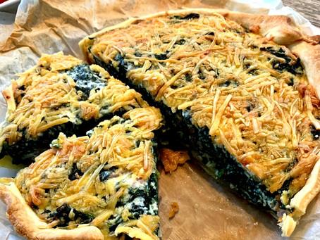 Spinazie & Ricotta taart