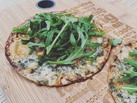 Volkoren wrap pizza
