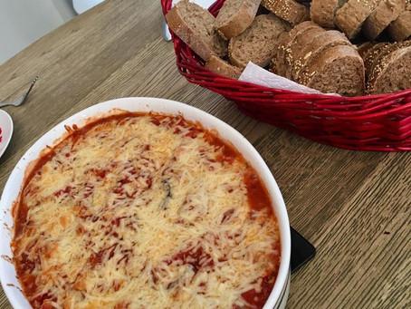 Lasagne van aubergine