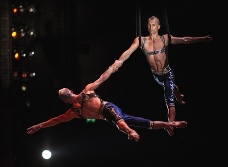 Atherton Twins <Aerial Straps> and Gasya Atheron <Hand Balancing>