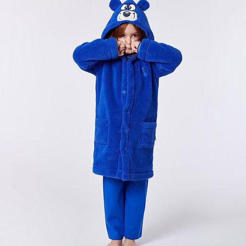 Woody - Kamerjas Fleece - Blauw