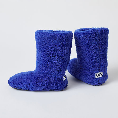 Woody pantoffels blauw