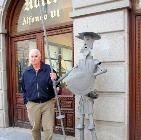 Mike in Toledo Spain