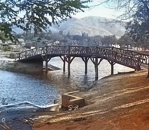 Pioneer Park Bridge - c1931