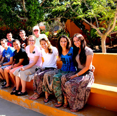 Missionaries at Los Giantes - where Princess Bride was filmed
