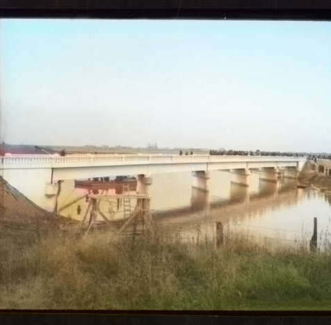 Corrine Bridge over the Bear River - c1925
