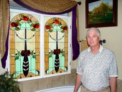 Mike's Stained Glass creations
