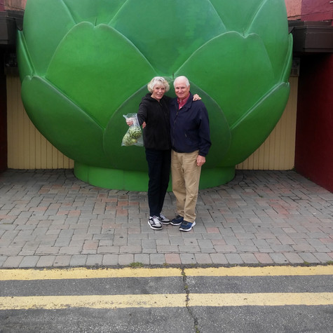 Giant Artichoke - Monterey CA
