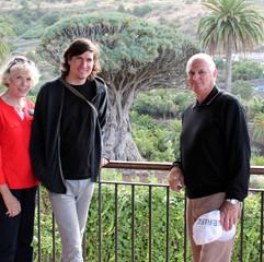 Son Leif at the Dragon Tree - Tenerife