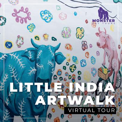 Virtual Little India Artwalk Tour
