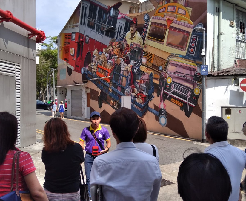 Corporate Events_Artwalk Little India_Monster Day Tours