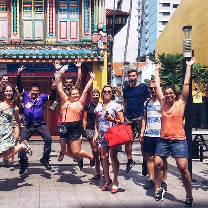 Singapore Little India Photo taking at Chinese Villa