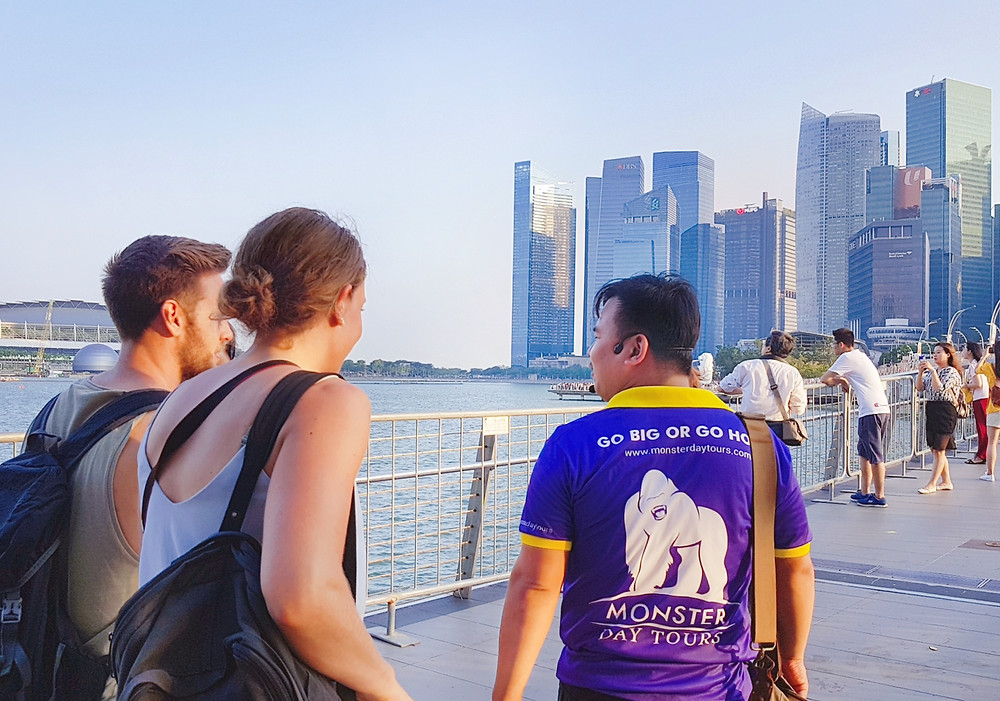Join the Singapore City Walking Tour by Monster Day Tours