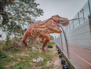 Explore A New Walking Trail in Singapore With Over 20 Dinosaurs!