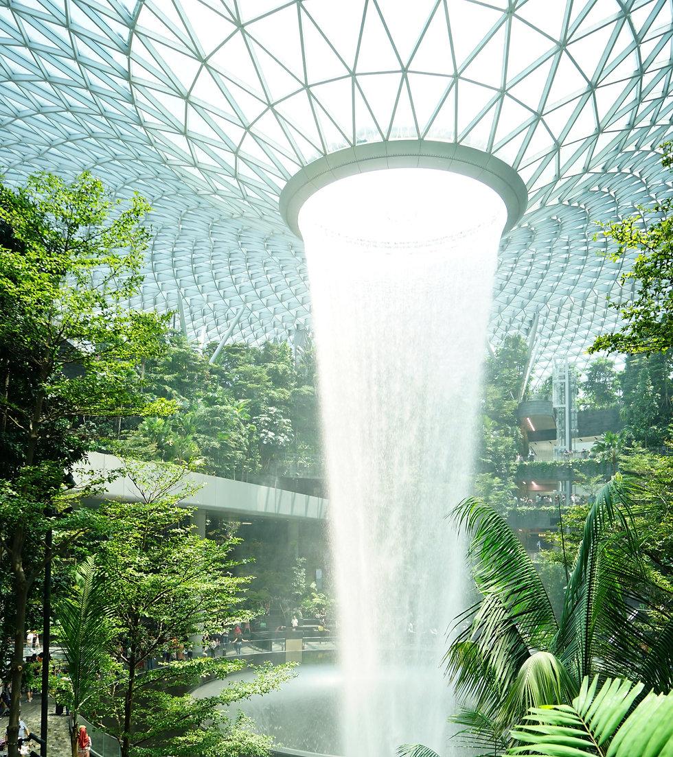 Jewel Changi Airport Walking Tour