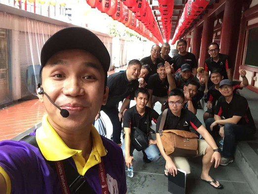 National Education Tours Singapore_ Tour Guide Bas_Monster Day Tours with SAF Men @ China