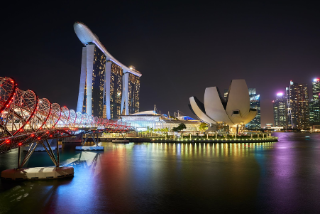 Travel to Singapore_Singapore Marina Bay Sands
