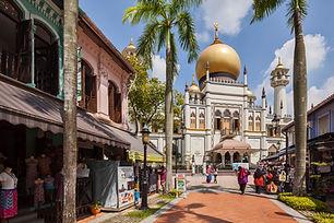 Kampong Glam - Bussorah Mall (Street sho