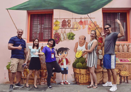 Singapore Tours_Private Tour_Conan Wall Mural Chinatown