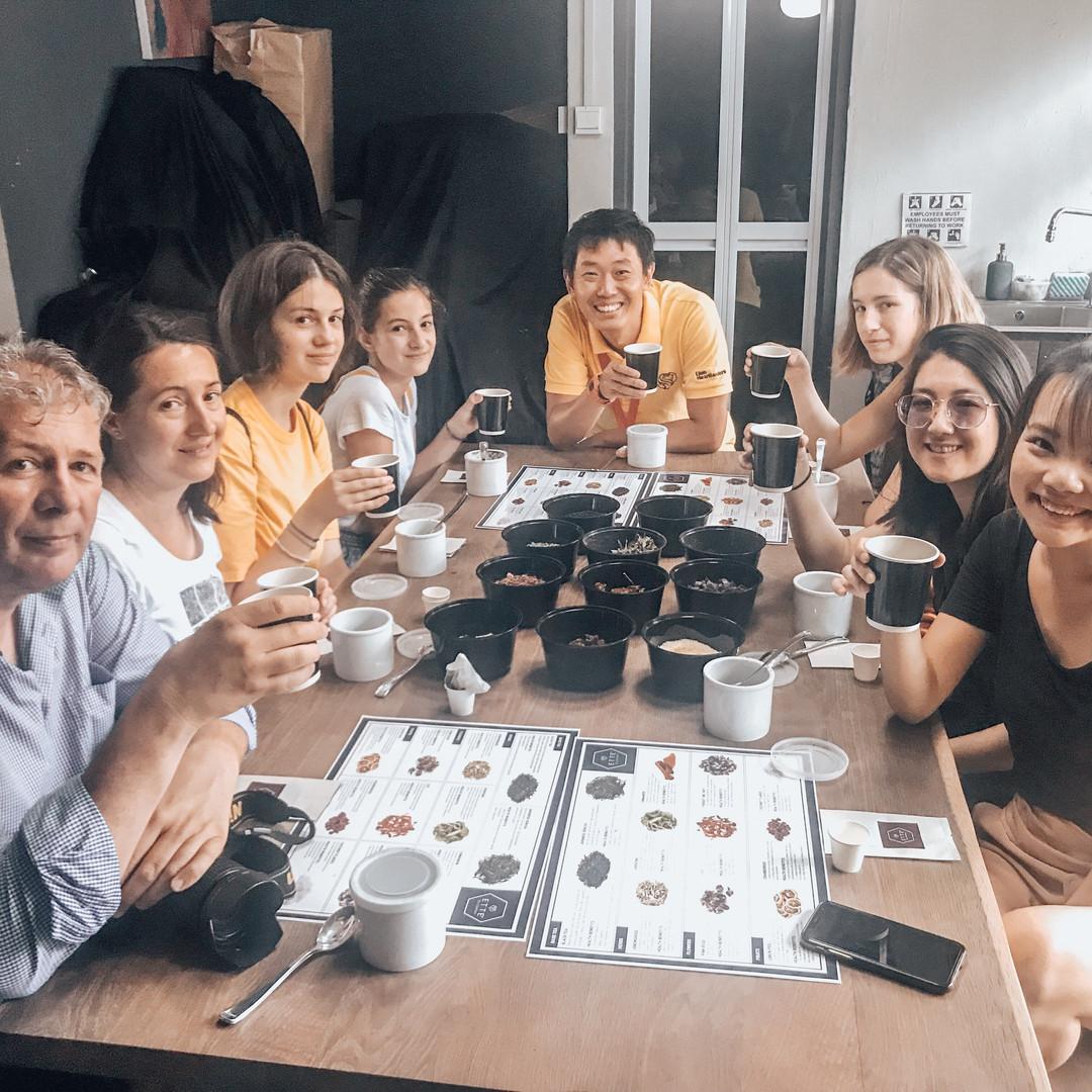 Tea appreciation class singapore