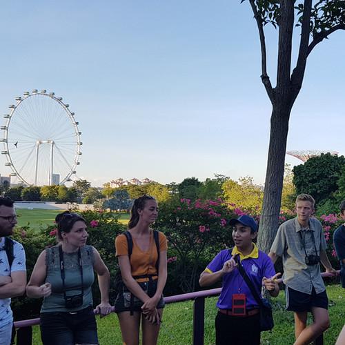 Marina Bay walking tour
