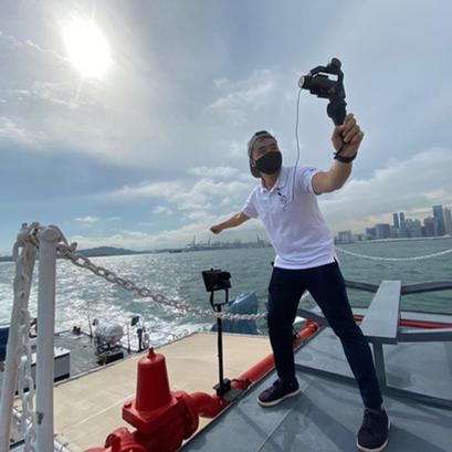 Tour Guide on Virtual Sea Tour