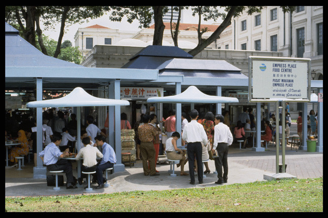 Empress Place Food Centre. Ministry of Information and the Arts, National Archives of Singapore