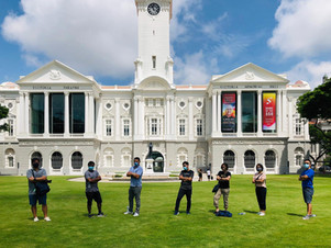Group activities with team building in Singapore