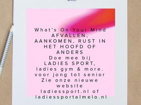 Ladies Sport is meer dan alleen een fitnessbedrijf. Probeer het eens uit.