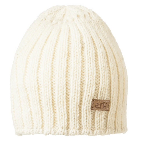 Ribbed Wool Fleece Lined Toque