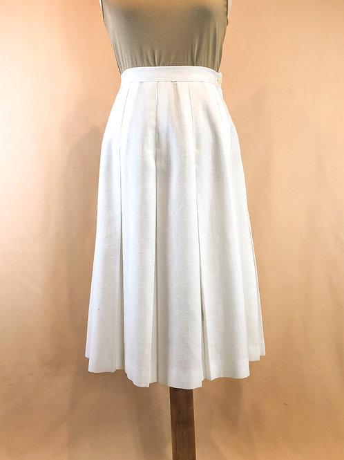 Vintage Box Pleat Skirt