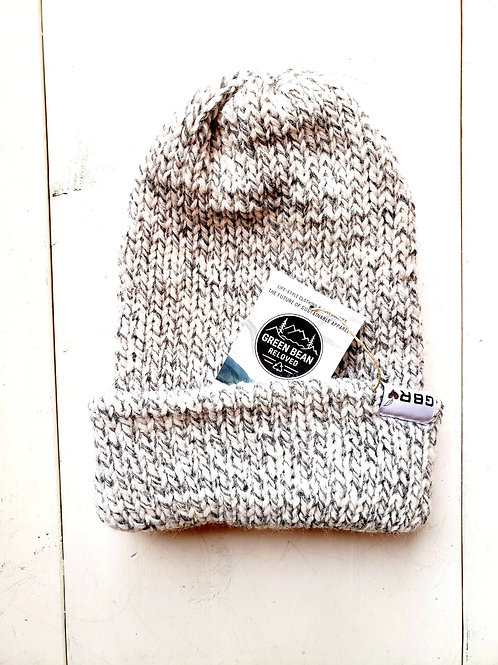 Green Bean Reloved Upcycled Toque Gray