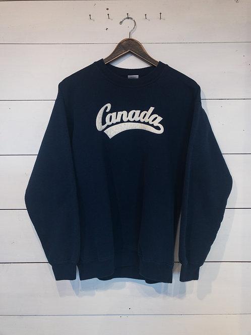 Vintage Navy Canada Sweatshirt