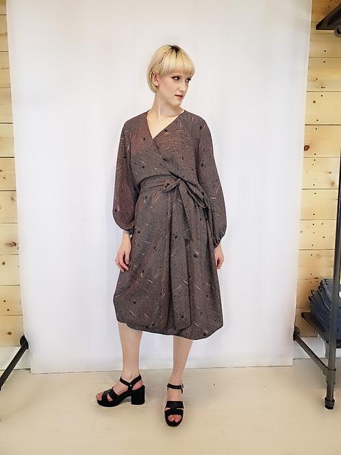 Vintage Hand Made Kimono Dress