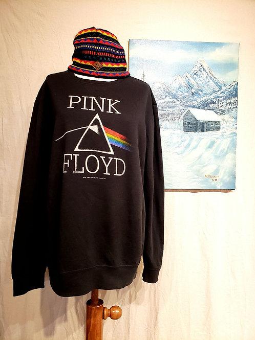 Upcycled Pink Floyd sweatshirt