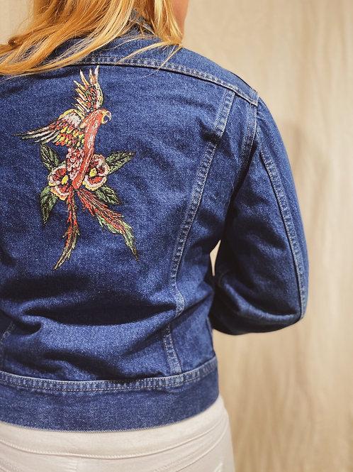 Lee Hand Painted Denim Jacket